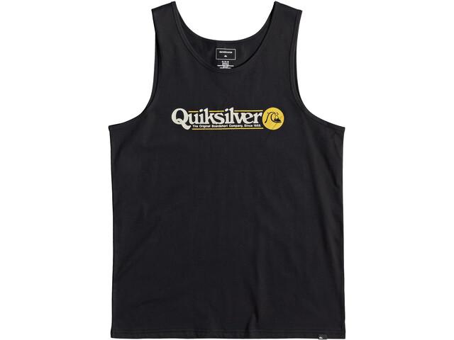 Quiksilver Art Tickle Canotta Uomo, black